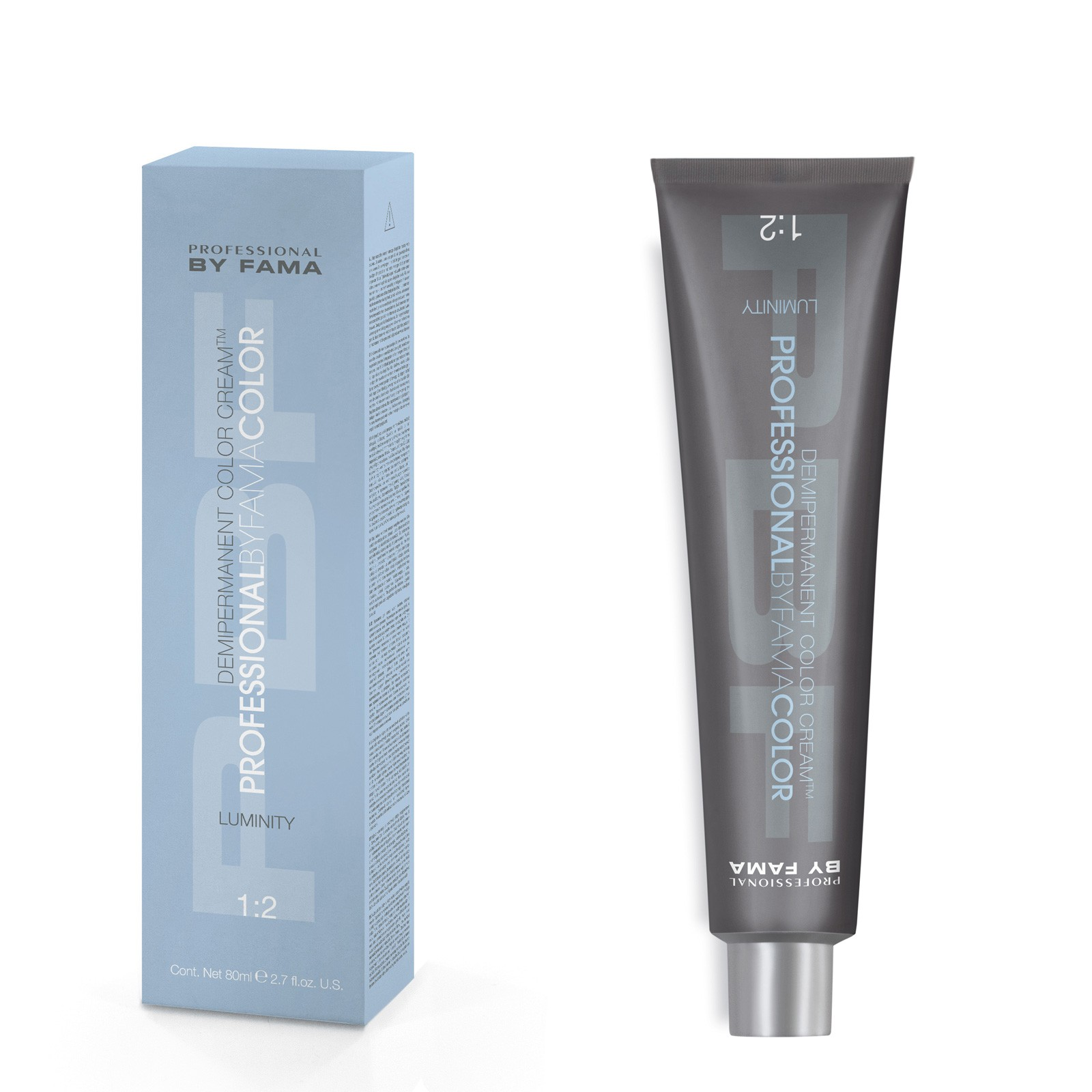 PBFC Demipermanent Luminity 1+2 80ml No7