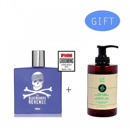 BBR Eau De Toilete 100 ml + Gift 1 Comi Every Day Antiwax Shampoo 300ml