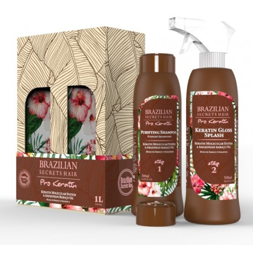 BSH PRO KERATIN KIT SPLASH PROFESSIONAL 2 x 500 ml