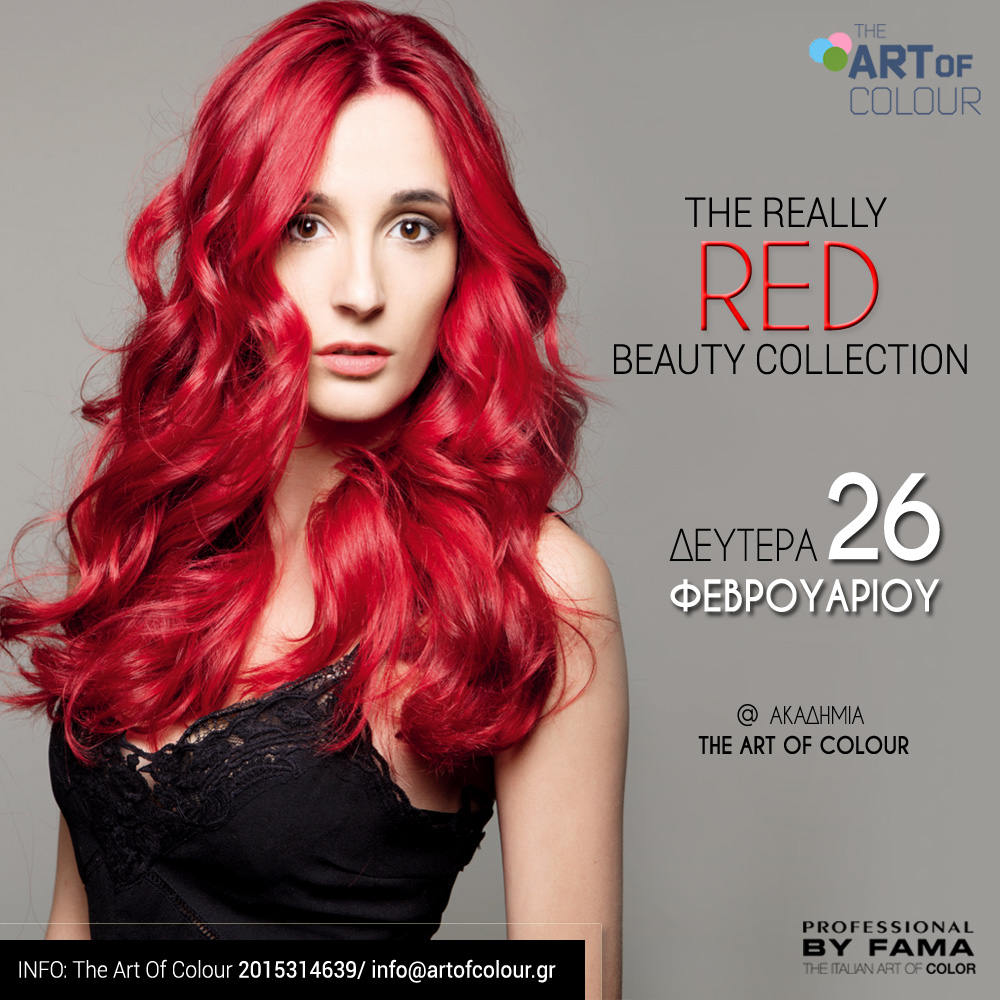 COLOR SPECIALIST the really RED beauty collection