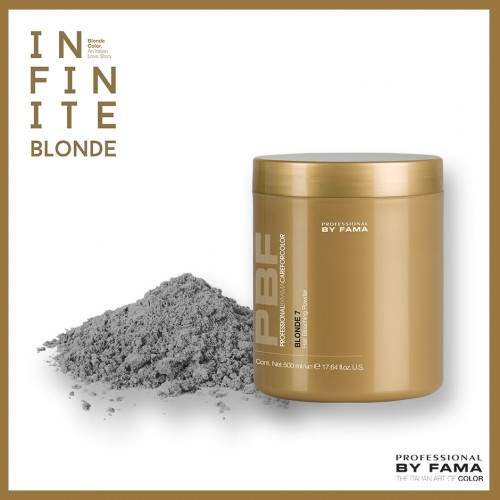 PBF COLOR BLONDE 7 HAIR BLEACHING POWDER 500 gr.