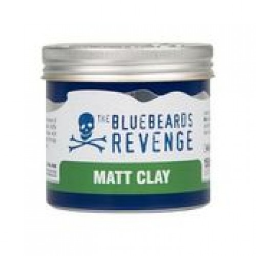 BBR Clay Hair Paste 100ml + Gift 1 BBR Moustache Comb