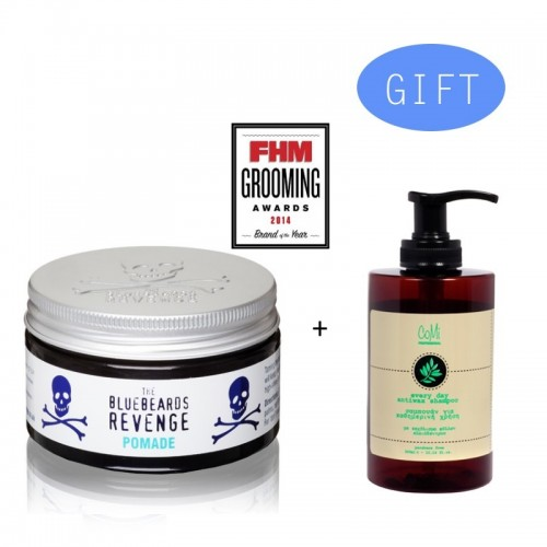 BBR Pomade 100 ml + Gift 1 Comi Every Day Antiwax Shampoo 300ml