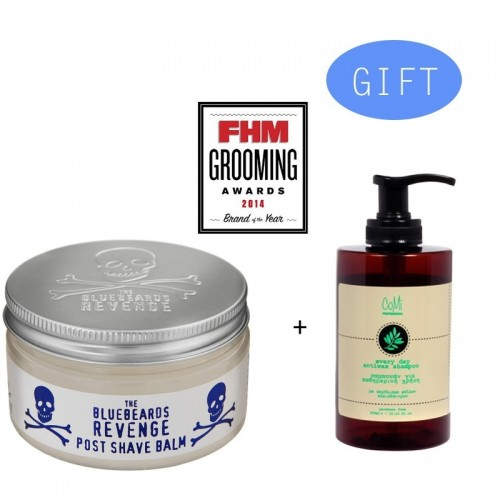 BBR Post Shave Balm 100ml + Gift 1 Comi Every Day Antiwax Shampoo 300ml